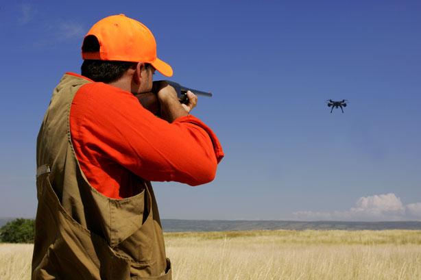 tiro al dron